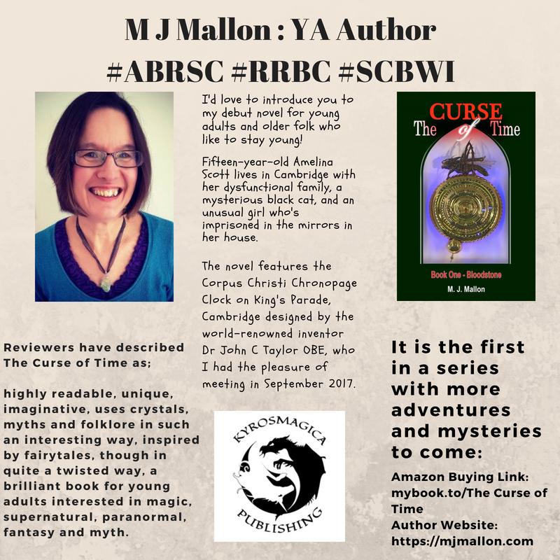 M J Mallon _ YA Author
